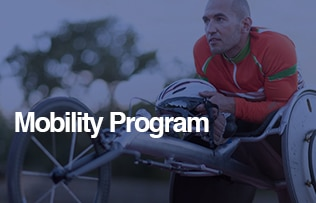 Persons with Disabilities Mobility Program, learn more image link.
