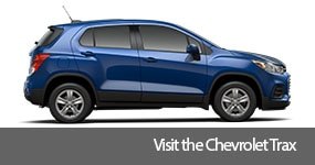 Visit the 2017 Trax text, underneath an image of the 2017 Chevrolet Trax.