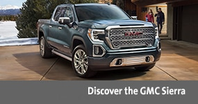 Visit the 2020 Sierra text, underneath an image of the 2020 GMC Sierra.