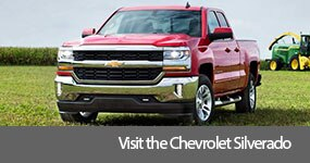 Visit the 2017 Silverado text, underneath an image of the 2017 Chevrolet Silverado.
