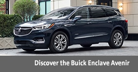 Visit the 20202 Enclavetext, underneath an image of the 2020 Buick Enclaver.