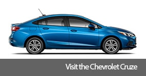 Visit the 2017 Cruze text, underneath an image of the 2017 Chevrolet Cruze.