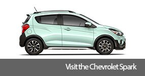 Visit the 2017 Spark text, underneath an image of the 2017 Chevrolet Spark.