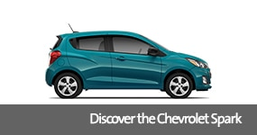 Visit the 2019 Spark text, underneath an image of the 2019 Chevrolet Spark.