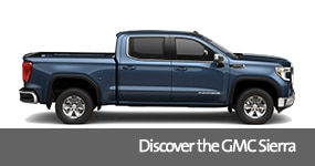 Visit the 2019 Sierra text, underneath an image of the 2019 GMC Sierra.
